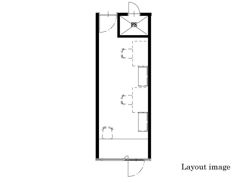 office  14.61㎡/4.42坪 Layout image
