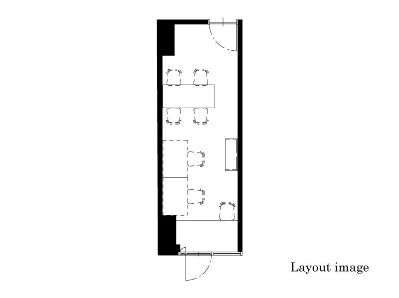 office  16.07㎡/4.86坪 Layout image