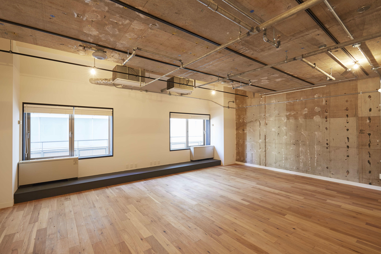 office 51.24㎡/15.50坪 床:フローリング 天井:スケルトン