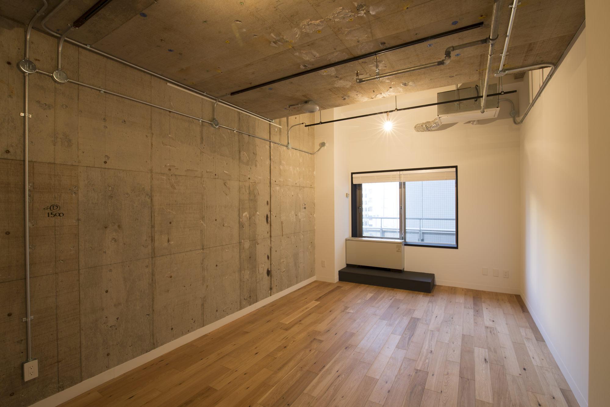office 23㎡台~35㎡台 床:フローリング 天井:スケルトン
