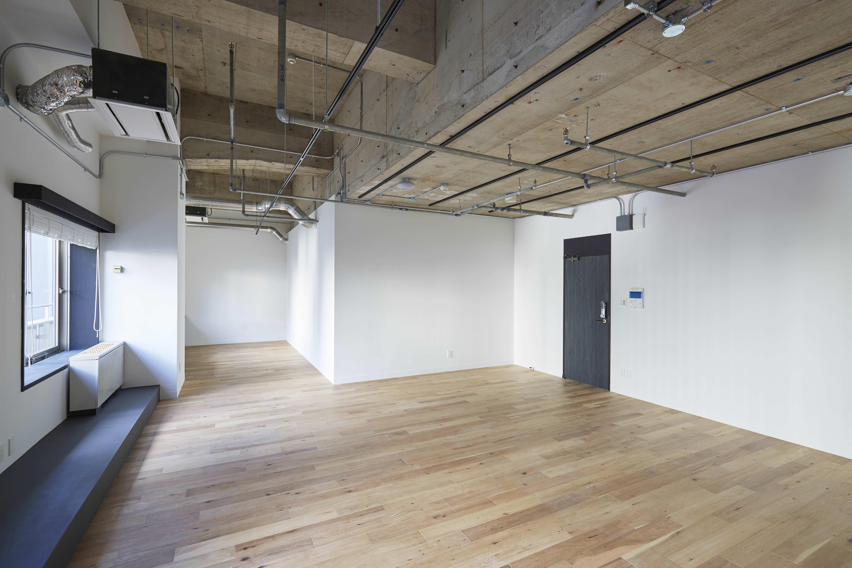 office 50.21㎡/15.19坪 床:フローリング 天井:スケルトン