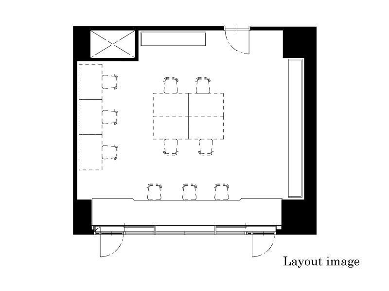 office 50.21㎡/15.19坪 Layout image